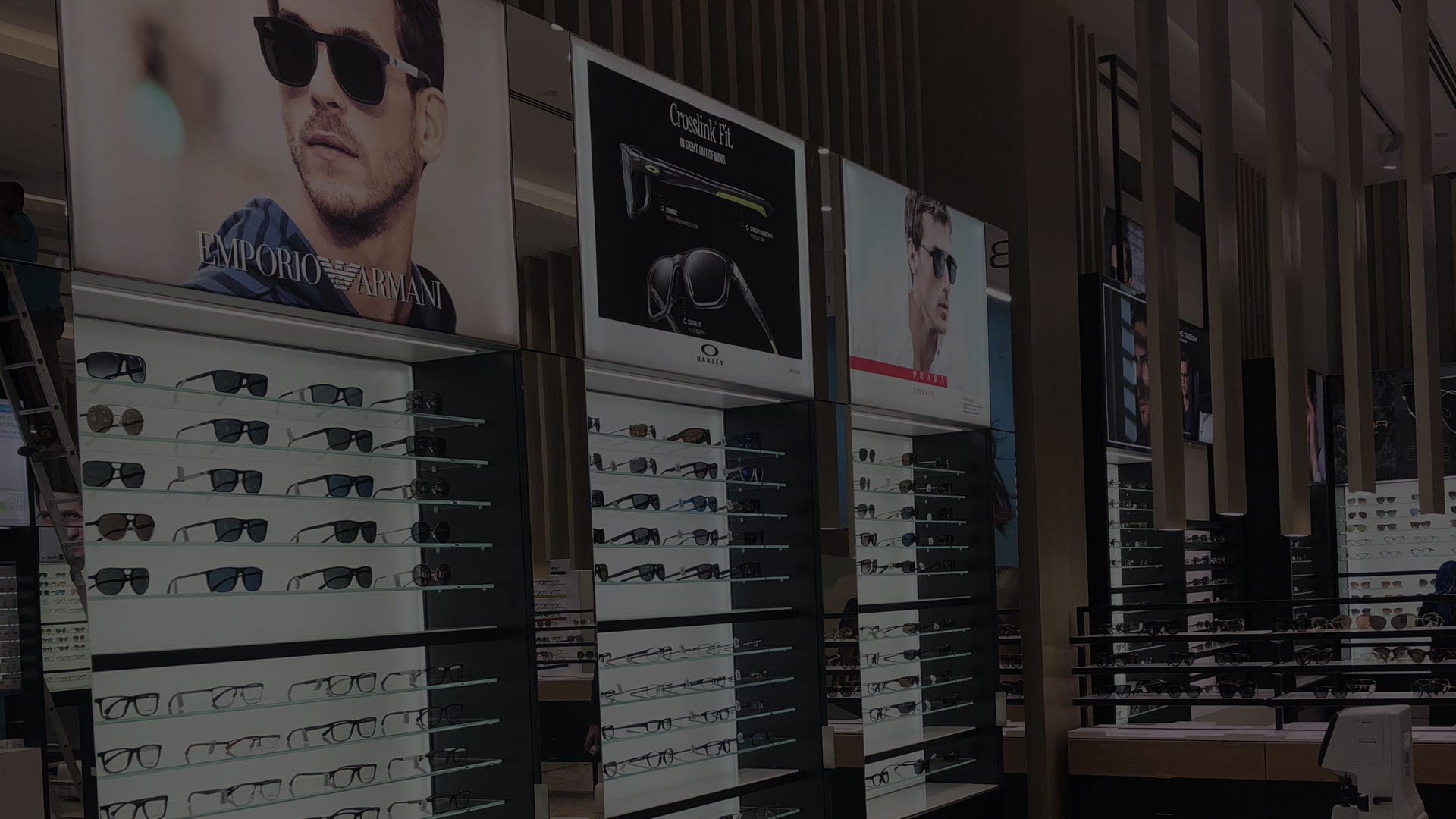 Nuovo stores Al Jaber Optical a DUBAI